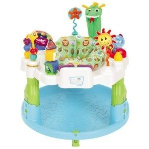 GRACO BABY EINSTEIN DISCOVER & PLAY ACTIVITY CENTER EXERSAUCER   GREAT