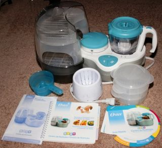 Oster Nutrition Center Baby Food Processor Steamer Combo
