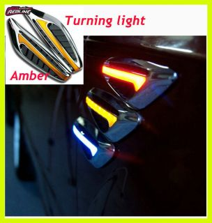 Car Side Marker Turn Signal Lights Bulb Lamps for Toyota Yaris Corolla
