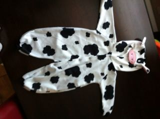 Kids Halloween Costume Infant 6 9 Months Cow Outfit