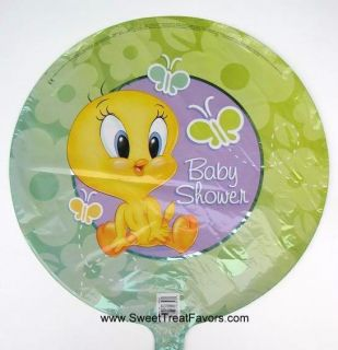 Baby Looney Tunes Party Tweety Birthday Mylar Balloon Shower Boy Girl
