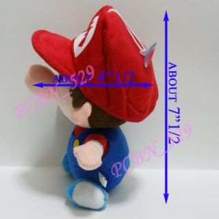 New Super Mario Brothers Plush Figure Baby Mario and Baby Luigi