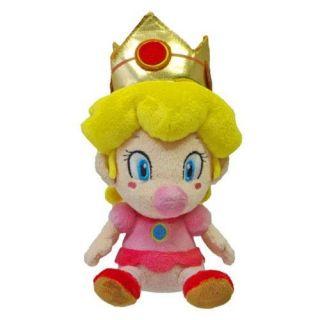 NEW 5 Sanei Super Mario Plush Series Plush Doll Baby PEACH