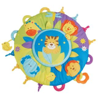 Tummy Time Jungle Baby Activity Play Mat Monkey Lion