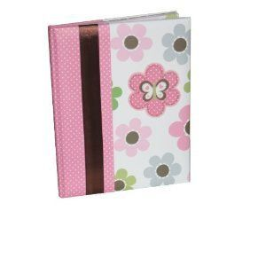 Just One You Babys Mod Flower First Record Book Baby Book Pink