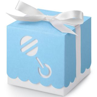 Wilton Baby Block Boxes Favor Kit Baby Shower Bluenew