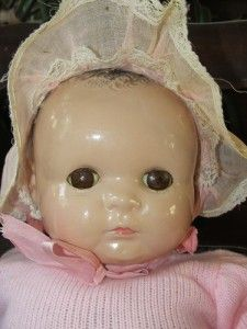 Georgene Averill Baby Georgene 20 Antique Composition Baby Doll