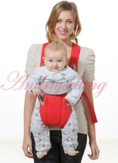 Front Back Kid Baby Carrier Infant Comfort Backpack Sling Wrap Harness