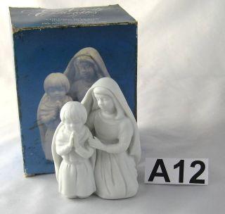 Avon Nativity Children in Prayer Anniversary Porcelain Figurine A12