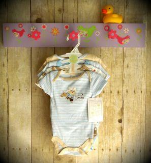Baby Boy Infant Newborn Cowboy Creeper Bodysuit Onesie Romper 0 3 3 6