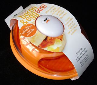NEW JOIE BACON EGG EASE MICROWAVE COOKING POT QUICK EASY NO MESS