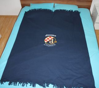 Dinamo Zagreb Croatia Bad Blue Boys BBB Blanket 2 Colors Available