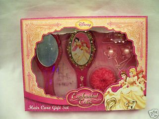 New Disney Princess Enchanted Tales Hair Care Gift Set
