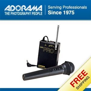 Azden WHX Pro Hand Held VHF Wireless Microphone System #WHXPRO