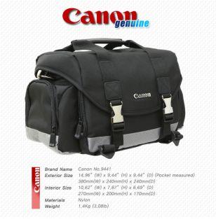 New Canon 9441 SLR DSLR Camera Bag 60D 5D 7D 600D 50D