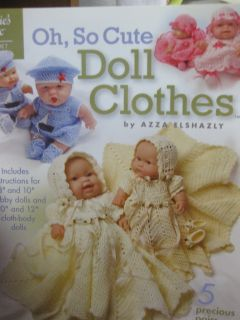 Pattern Book Oh So Cute Doll Clothes 871048 Azza Elshazly