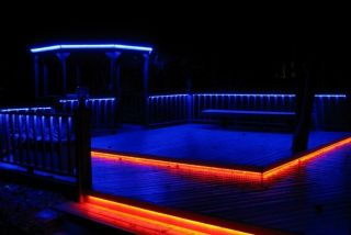 RGB LED Outdoor Backyard Patio Deck Yard Pool Bar BBQ Grill Cabana