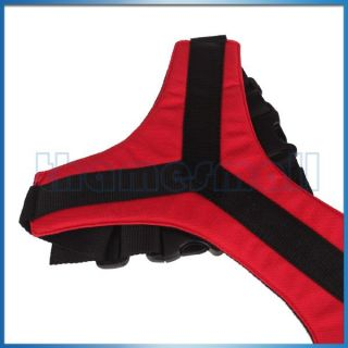 Pet Dog Puppy Red Safety Seat Belt Harness for Car Vehicle Travel