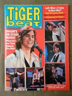 1978 Shaun Cassidy Scott Baio Rollers Leiff Garrett Magazine