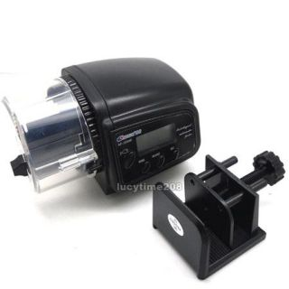 Automatic LCD Auto Aquarium Fish Tank Food Feeder Timer