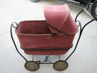 Mahr Bufton baby carriage rocking cradle bassinet pram Trav L eez