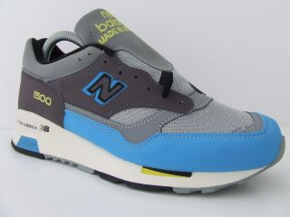 Mens New Balance Trainers 1500 bbl Retro Deadstock Sneakers RARE Made
