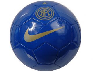Inter Milan Football Official Size 5 Soccer Ball Blue Gold New