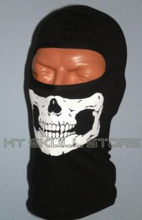 Skull Face Mask Full Ski Hood Motorcycle Helmet Liner