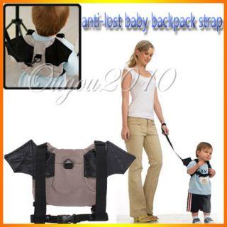 Baby Kids Toddler Walk Safety Bat Shaped Keeper Bag Harness Backpack