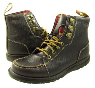 New Dr Martens Mens Weston Brown Ankle Boots US Sizes