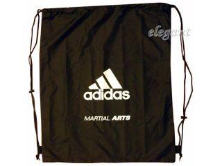 Adidas Martial Arts Gear Bag Gym Sac Sports Tote Drawstring Pack Nylon