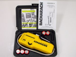 Bacharach Leakator 10 Combustible Gas Leak Detector w Case NICE