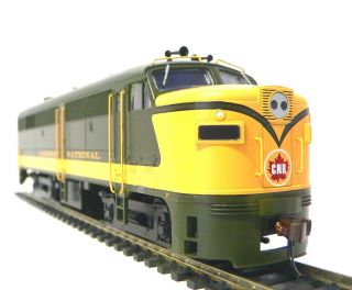 HO Scale Model Railroad Trains Layout Bachmann Canadian National FA2