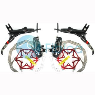 2013 SRAM Avid XX World Cup Hydraulic Disc Brake Pair Set with HSX