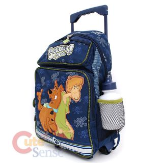 and Shaggy School Roller Backpack Luggage Rolling Bag Large 16