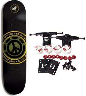 ELEMENT SKATEBOARDS Complete Skateboard PROTECT FREEDOM 7.625