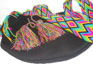 Wayuu Mochila Gaza Strap Unicolor Collection 2012