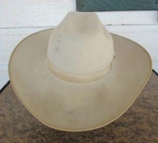 Good Mens Bailey XXXXX Beaver Cowboy Western Hat Size 7 1 2 Light