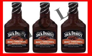 Jack Daniels BBQ Barbecue Sauce Honey Smokehouse