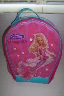 Barbie Fairytopia Mermaidia Backpack Doll Carrying Case Very Good Cond