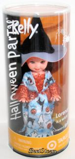 Barbie Kelly Halloween Kelly girl friend LORENA is a WITCH doll ( to
