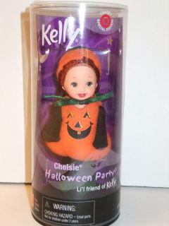 Barbie Kelly Doll 2000 Halloween Party Chelsie Pumpkin
