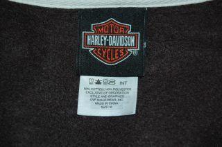 Harley Davidson Laidlaws Hoodie Jacket Womens Medium