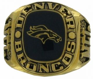 Balfour Ring Boxed Football Offical Nfl Denver Broncos Sz 7.5