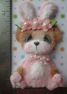 Easter Baby Bunny Costume Tear Bear Paper Piecing CSPT 3PW