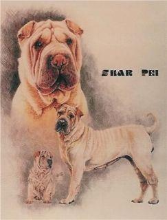 Shar Pei Dog Breed Sharpei Counted Cross Stitch Pattern