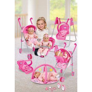 Graco Baby Doll ~TRAVEL SYSTEM~ High Chair~ Swing~ Stroller~ Gym~ Car