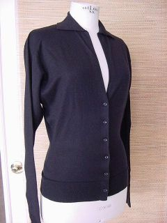 Barbara Bui Cashmere Silk Cardigan Sweater M Unique