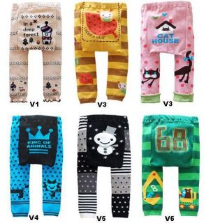 Infants Toddler Boys Girls Baby Clothes Leggings Tights Pants Bottom