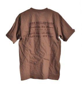 Original 2003 John Mellencamp Trouble No More T Shirt M